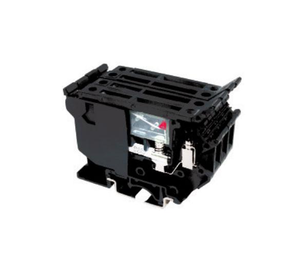 JUT1-4RD/BK工业配电接线端子-保险丝型端子系列