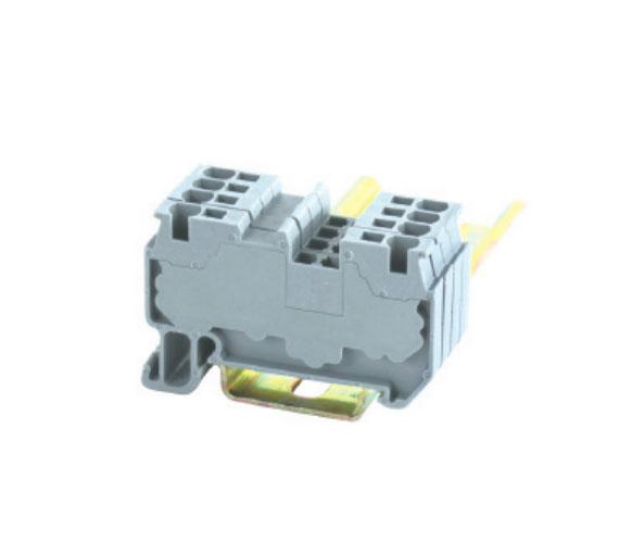 JUT14-1.5/DK/GY二导线贯通型接线端子