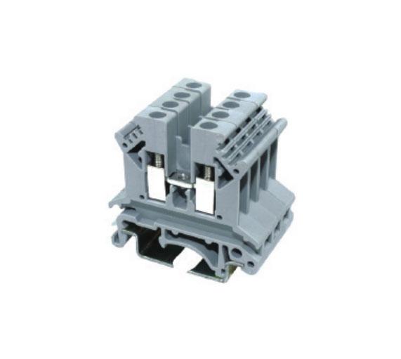 JUT1-2.5B/GY工业配电接线端子-螺钉类(通用型)