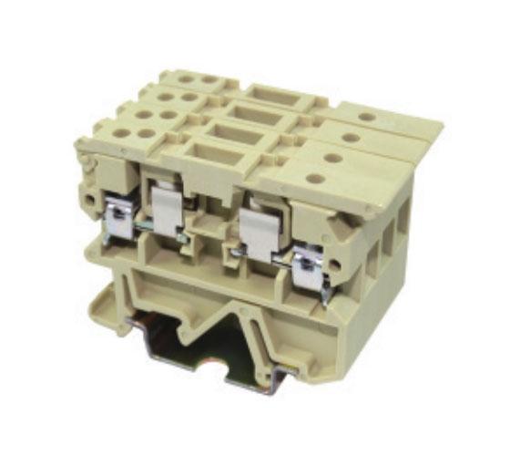 JUT2-4RD/CM工业配电接线端子-保险丝型端子系列