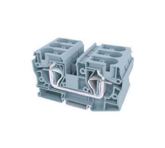 JUT3-35/GY二导线贯通型接线端子