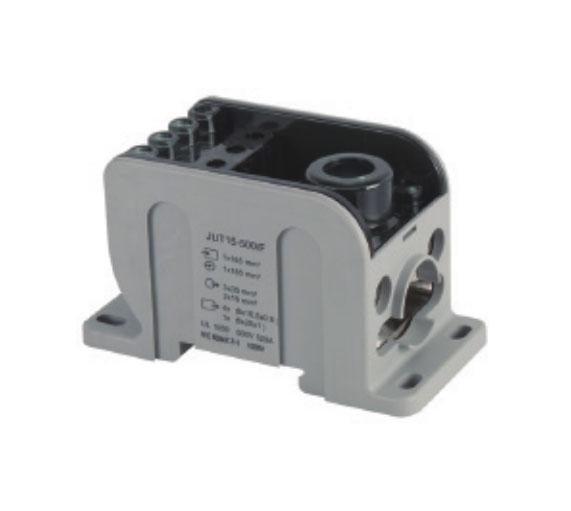 JUT11-500F/GY集线盒接线端子(柔性母排型)